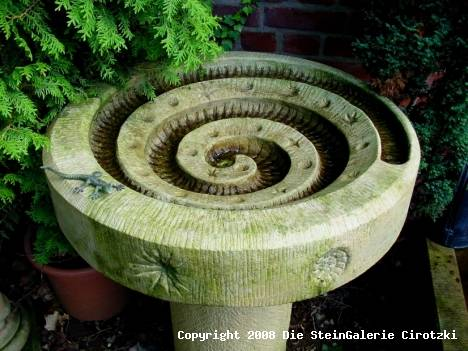 sandsteinbrunnen | stein-galerie cirotzki, Garten und Bauen